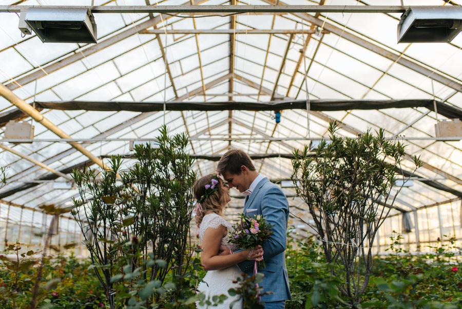 sesja ślubna w szklarni katowice