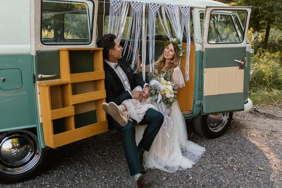 Sesja hippie bus
