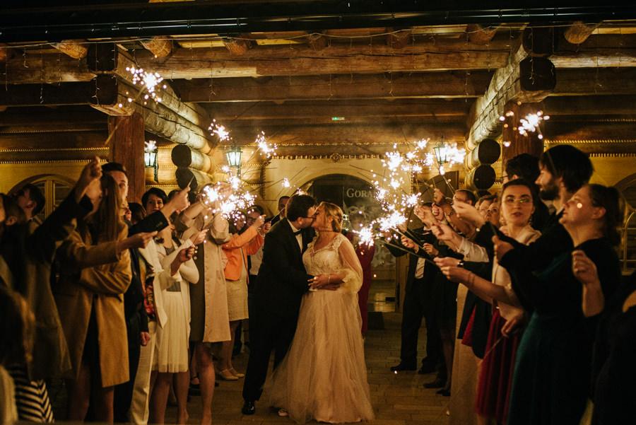 fotograf ślubny zimne ognie